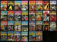 2m051 LOT OF 30 VAULT OF HORROR REPRINT COMIC BOOKS '90s-00s the same comics from the 1950s!
