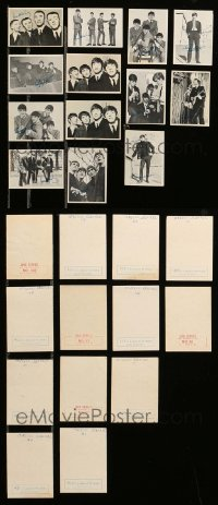 2m026 LOT OF 13 BEATLES TRADING CARDS '64 John Lennon, Paul McCartney, George Harrison & Ringo!