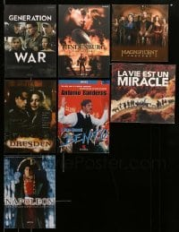 2m012 LOT OF 7 PROMO BROCHURES '90s-10s great images from a variety of different movies!