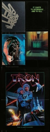 2m004 LOT OF 4 TRADE ADS '80s great images from a variety of different movies!