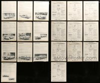 2m020 LOT OF 10 1959 CAR BROCHURES '59 Ford, Pontiac, Studebaker, Chrysler, Edsel & more!