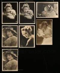 2m055 LOT OF 7 JACKIE SAUNDERS 5X7 FAN PHOTOS '17 great Witzel portraits with her dog & kid!