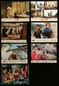 2m059 LOT OF 7 HONG KONG LOBBY CARDS '60s-70s great scenes from mostly kung fu movies!