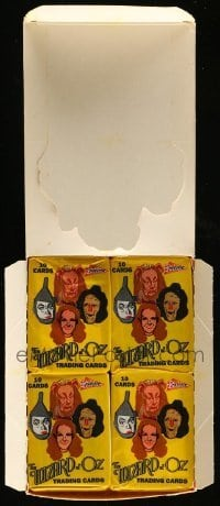 2m019 LOT OF 1 BOX OF WIZARD OF OZ TRADING CARDS '90 contains 36 unopened packs in die-cut box!