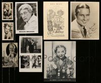 2m018 LOT OF 8 MISCELLANEOUS PHOTOS '30s-80s Alan Ladd, Ida Lupino, Roy Rogers & more!
