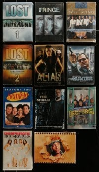 2m023 LOT OF 11 TV SERIES DVD SETS '00s Lost, Seinfeld, Desperate Housewives, West Wing & more!
