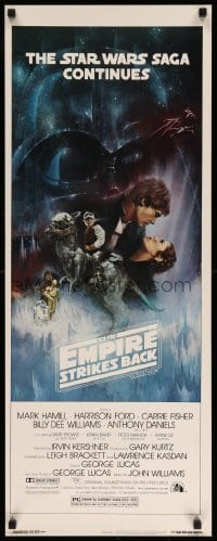 3b031 EMPIRE STRIKES BACK insert '80 George Lucas, Gone with the Wind style art by Roger Kastel!