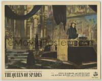 3x861 QUEEN OF SPADES English LC '49 Anton Walbrook stares at body in casket, Russian horror, rare!