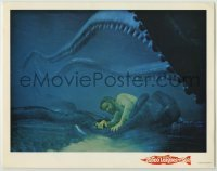 3x502 20,000 LEAGUES UNDER THE SEA LC R63 Jules Verne classic, James Mason & octopus underwater!
