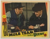 3x501 20 MULE TEAM LC '40 Wallace Beery shows Douglas Fowley the claim is rich enough for both!