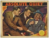 3x510 ABSOLUTE QUIET LC '36 Stu Erwin tells governor Raymond Walburn to save himself if he can!