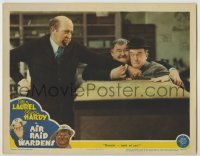 3x522 AIR RAID WARDENS LC '43 Edgar Kennedy wants Oliver Hardy & Stan Laurel out of his store!