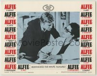 3x523 ALFIE LC #7 '66 close up of British cad Michael Caine putting the make on a girl!