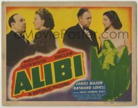 3x014 ALIBI TC '43 bar hostess Margaret Lockwood serves as Hugh Sinclair's murder alibi!