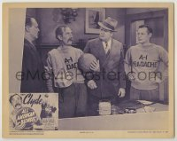 3x527 ALL AMERICAN BLONDES LC '39 three men stare at Andy Clyde holding basketball!