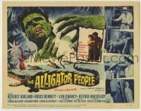 3x016 ALLIGATOR PEOPLE TC '59 Beverly Garland, Lon Chaney Jr., they'll make your skin crawl!