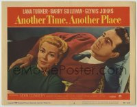 3x532 ANOTHER TIME ANOTHER PLACE LC #6 '58 sexy Lana Turner has an affair with young Sean Connery!