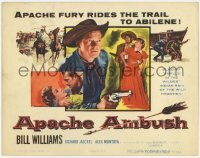 3x021 APACHE AMBUSH TC '55 Richard Jaeckel, Bill Williams, Apache fury rides the trail!