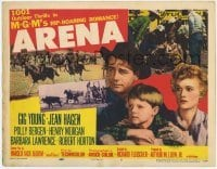3x024 ARENA 2D TC '53 Gig Young, cool cowboy western, MGM's full-length feature!