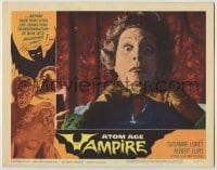 3x539 ATOM AGE VAMPIRE LC #2 '63 best close up of monster's hands choking its terrified victim!