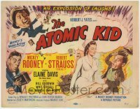 3x032 ATOMIC KID TC '55 wacky art of nuclear Mickey Rooney, an explosion of laffs!