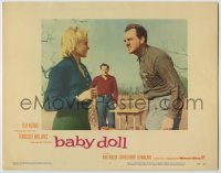 3x543 BABY DOLL LC #7 '57 Elia Kazan, Eli Wallach watches Karl Malden argue with Carroll Baker!
