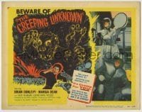 3x113 CREEPING UNKNOWN TC '56 Val Guest's Quatermass Xperiment, Hammer horror, wacky monster!