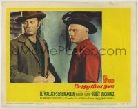 3x788 MAGNIFICENT SEVEN LC #5 '60 Brad Dexter understands Yul Brynner too well & wants the gold!