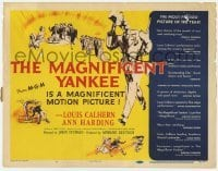 3x280 MAGNIFICENT YANKEE TC '51 Louis Calhern as Oliver Wendell Holmes, directed by John Sturges!