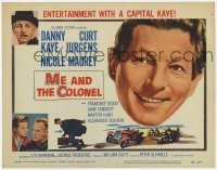 3x310 ME & THE COLONEL TC '58 Danny Kaye in a dual role, Curt Jurgens, Nicole Maurey