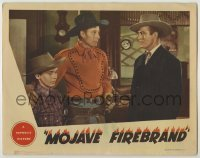 3x812 MOJAVE FIREBRAND LC '44 Wild Bill Elliott protects young boy from bad guy Leroy Mason!