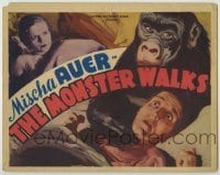 3x324 MONSTER WALKS TC R38 different artwork of woman choked by menacing gorilla!