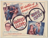 3x326 MOVIE CRAZY TC R49 funniest man in the world Harold Lloyd & Constance Cummings!