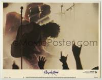 3x859 PURPLE RAIN LC #8 '84 great image of Prince with guitar performing on stage!