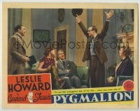 3x860 PYGMALION LC '38 Leslie Howard says meeting Wendy Hiller was the unhappiest day of his life!