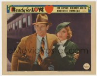 3x864 READY FOR LOVE LC '34 c/u of Richard Arlen with his arm around sexy young Ida Lupino!