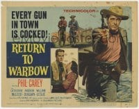 3x384 RETURN TO WARBOW TC '58 cowboy Phil Carey vs the West's deadliest outlaws, Ray Nazarro!