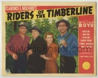 3x870 RIDERS OF THE TIMBERLINE LC '41 William Boyd as Hopalong Cassidy, MacDonald, Stewart & King!