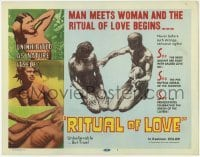 3x390 RITUAL OF LOVE TC '60 man meets woman and the ritual of love begins, wild sex!