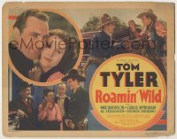 3x394 ROAMIN' WILD TC '36 great images of cowboy Tom Tyler romancing & fighting bad guys!