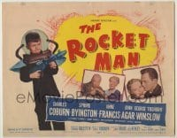 3x396 ROCKET MAN TC '54 great image of Foghorn Winslow with ray gun, written by Lenny Bruce!