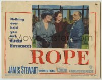 3x883 ROPE LC #6 '48 Constance Collier & Joan Chandler with Cedric Hardwicke, Alfred Hitchcock!