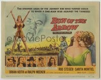 3x399 RUN OF THE ARROW TC '57 Sam Fuller, Rod Steiger waged a one-man war against the Yankees!