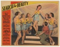 3x891 SEARCH FOR BEAUTY LC '34 6 of the skimpily dressed 30 international beauty contest winners!