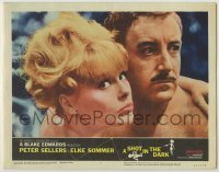 3x900 SHOT IN THE DARK LC #7 '64 best close up of nudists Peter Sellers & sexy Elke Sommer!
