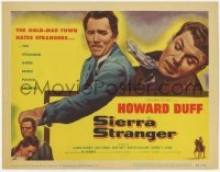 3x416 SIERRA STRANGER TC '57 the entire gold-mad town hates Howard Duff, but he won't take it!