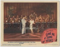 3x907 SING ME A SONG OF TEXAS LC '45 Hal McIntyre & Orchestra give the West a new thing in swing!