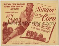 3x421 SINGIN' IN THE CORN TC '46 Judy Canova, wide open spaces are roaring with laughter & song!