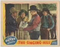 3x909 SINGING HILL LC '41 Gene Autry & Smiley Burnette are told their property will be auctioned!