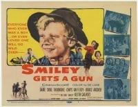 3x427 SMILEY GETS A GUN TC '59 heart-warming Aussie boy is the new Smiley, with Chips Rafferty!